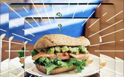 Smoke Salmon w/ Avocado  – Summer Sandwich Special!