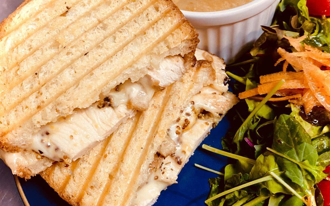 Honey Dijon & Chicken w/Gouda Cheese Melt